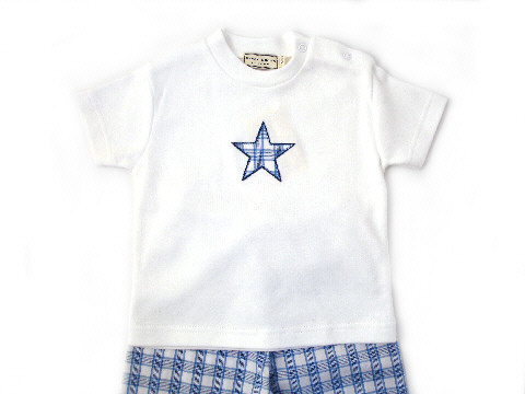 Darcy Brown Boys'  T-Shirt Pyjamas Hampshire