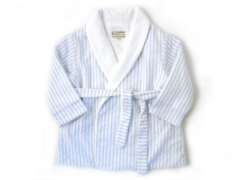 Darcy Brown Boys'  Robe Yale