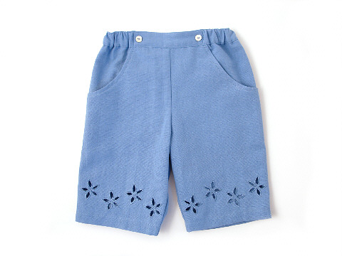 Darcy Brown Lulu Trousers Cornflower Blue