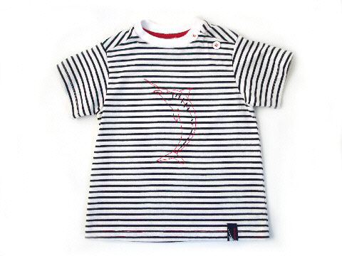 Marlin t-Shirt Navy:White