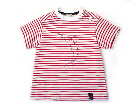 Marlin t-Shirt Red:White
