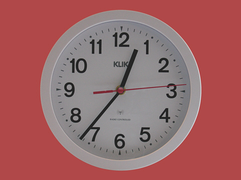 Klik Radio-Controlled Clock