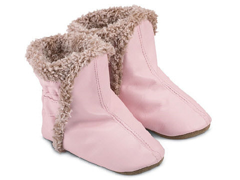 Bootees Pink