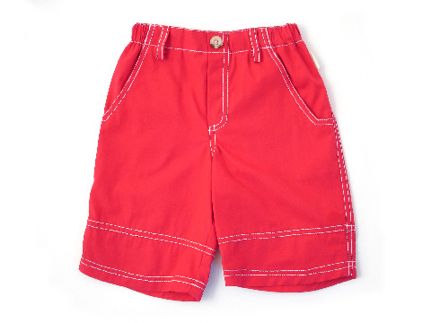 Darcy Brown Surfer Shorts Red
