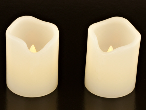 Smart Candles: Small Pillar Candles